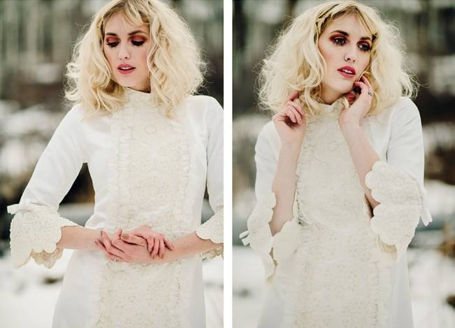 Nature Meets Vintage Bridal Inspiration – Lacy Dresses Vintage Co + Whynaught Shop 21