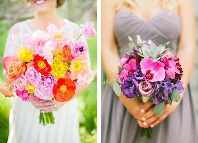 Neon Wedding Bouquets 2