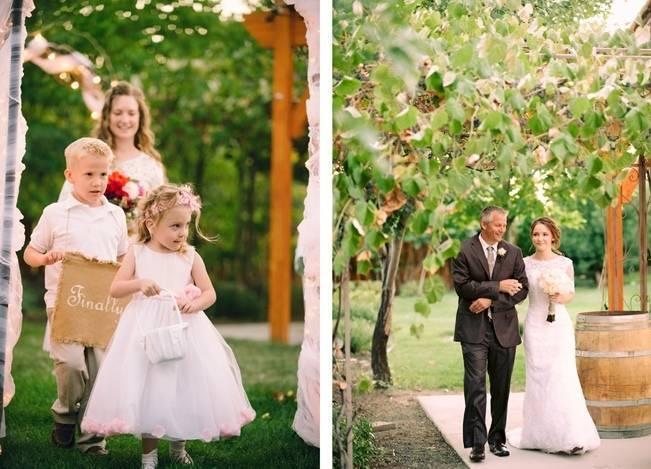 Pink Garden Wedding in Walla Walla {Wilton Photography} 12