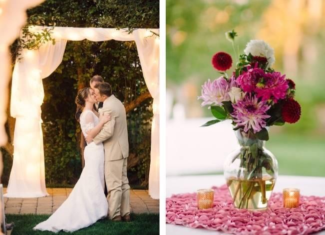 Pink Garden Wedding in Walla Walla {Wilton Photography} 14