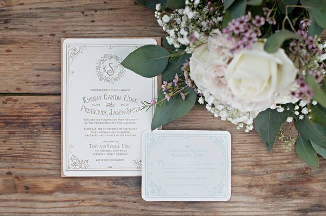 Southern Vintage Outdoor Wedding {Casey Rose Photography} 1