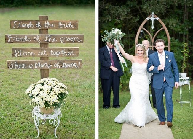 Southern Vintage Outdoor Wedding {Casey Rose Photography} 11