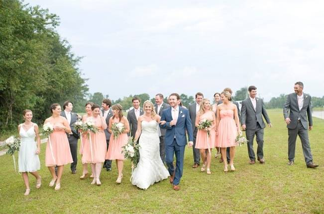 Southern Vintage Outdoor Wedding {Casey Rose Photography} 12