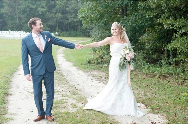 Southern Vintage Outdoor Wedding {Casey Rose Photography} 13