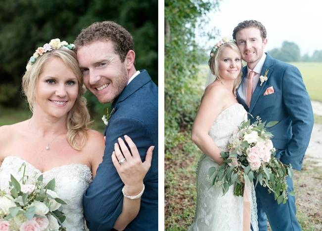 Southern Vintage Outdoor Wedding {Casey Rose Photography} 14