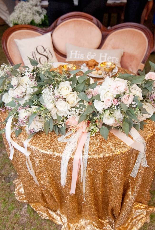 Southern Vintage Outdoor Wedding {Casey Rose Photography} 15