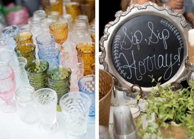 Southern Vintage Outdoor Wedding {Casey Rose Photography} 16