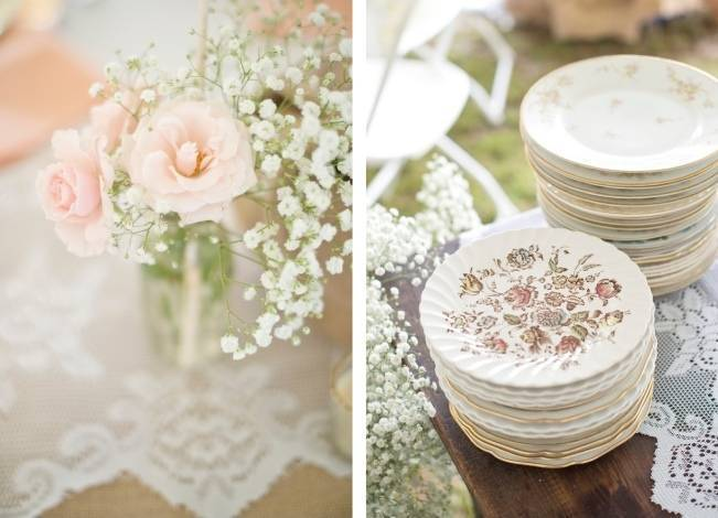 Southern Vintage Outdoor Wedding {Casey Rose Photography} 18
