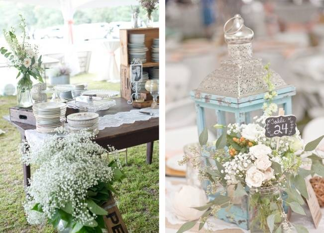 Southern Vintage Outdoor Wedding {Casey Rose Photography} 20
