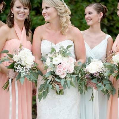 Southern Vintage Outdoor Wedding {Casey Rose Photography}
