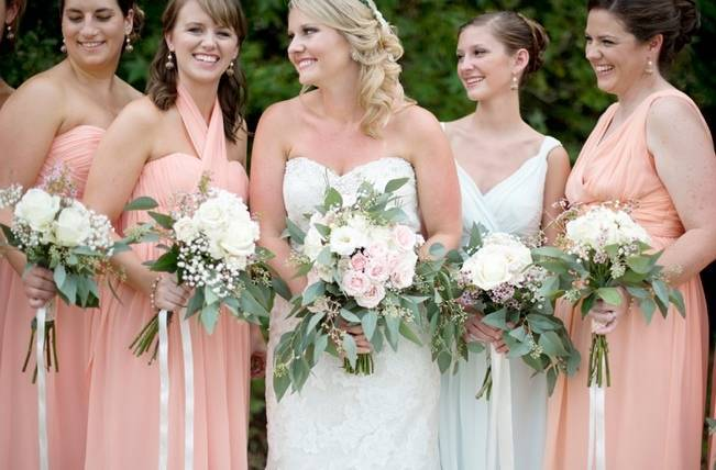 Southern Vintage Outdoor Wedding {Casey Rose Photography} 3