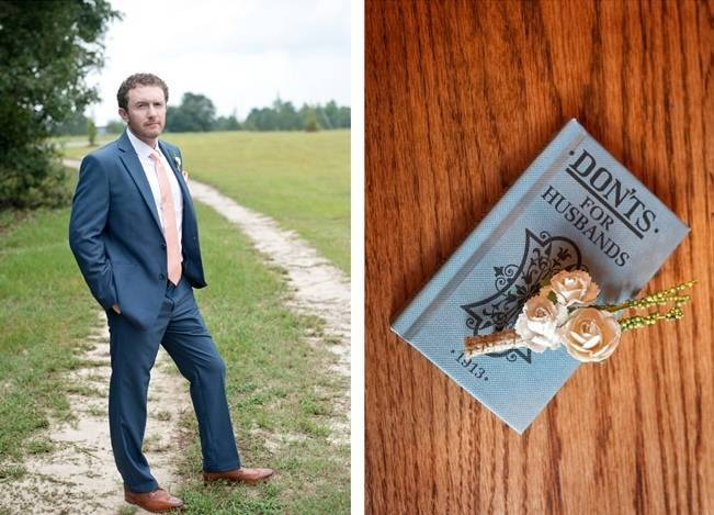 Southern Vintage Outdoor Wedding {Casey Rose Photography} 8