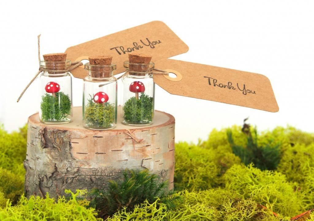 fairyfolkweddings woodland terrarium favors
