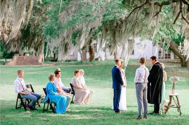 Charming Southern Wedding at Litchfield Plantation {Pasha Belman Photography} 10
