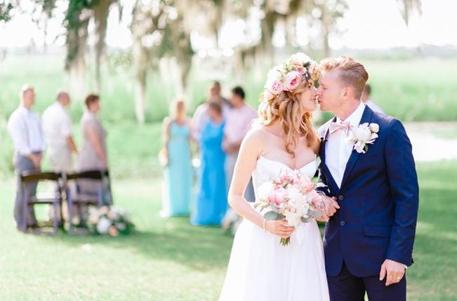 Charming Southern Wedding at Litchfield Plantation {Pasha Belman Photography} 13