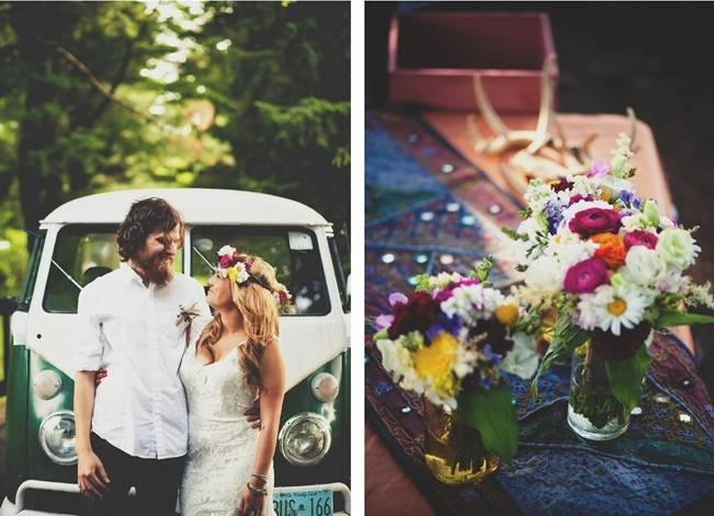Free-Spirited Bohemian Wedding Styled Shoot {Corey Lynn Tucker Photography} 9