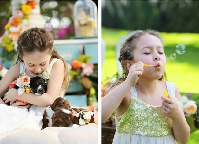 Fun Bright Wedding + Ideas for the Little Ones {Heather Rice Photography} 10