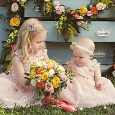 Bright Brunch Wedding Inspiration + Fun Ideas for the Little Ones