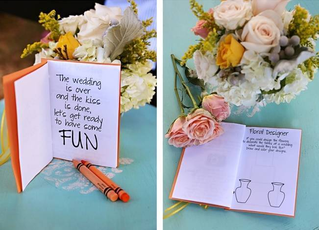 Fun Bright Wedding + Ideas for the Little Ones {Heather Rice Photography} 14