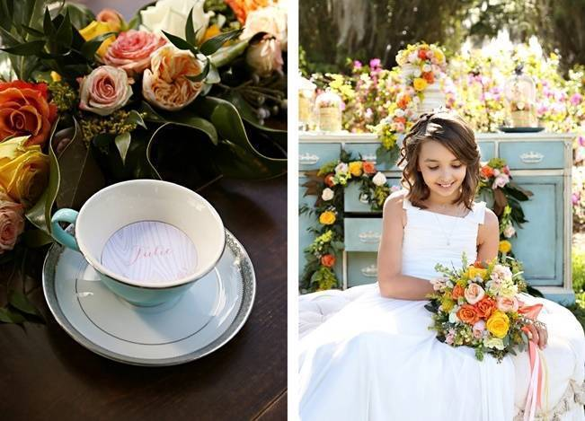 Fun Bright Wedding + Ideas for the Little Ones {Heather Rice Photography} 17