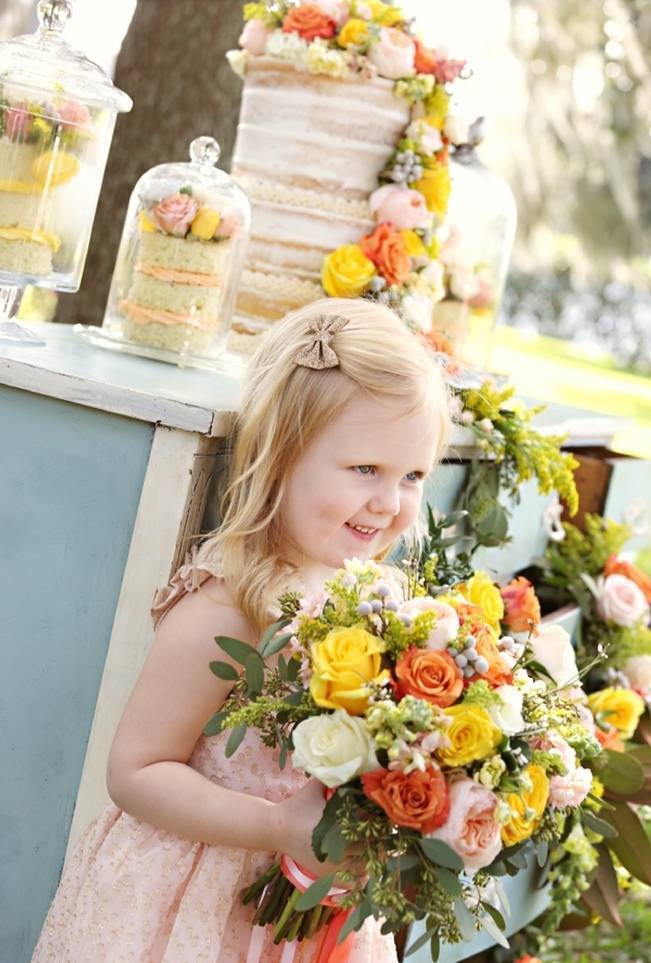 Fun Bright Wedding + Ideas for the Little Ones {Heather Rice Photography} 9