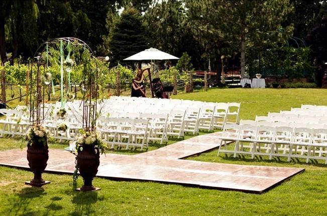 Pink and Ivory Vineyard Mountain Wedding {Pepper Nix Photography} 11