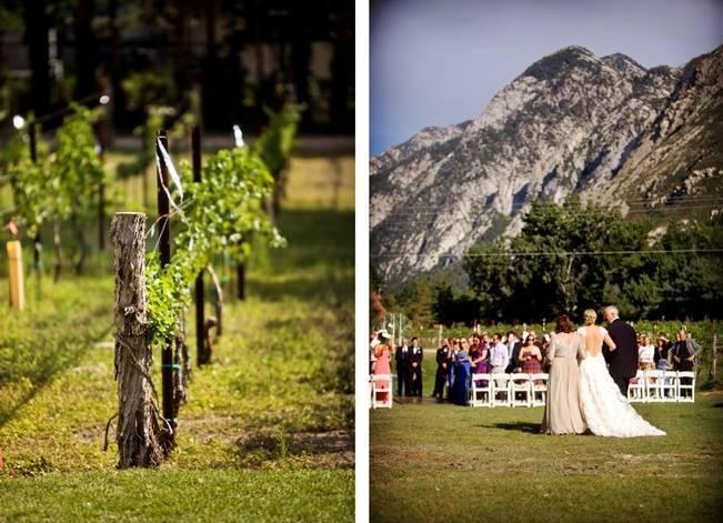 Pink and Ivory Vineyard Mountain Wedding {Pepper Nix Photography} 13