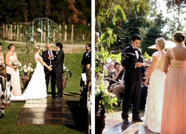 Pink and Ivory Vineyard Mountain Wedding {Pepper Nix Photography} 15