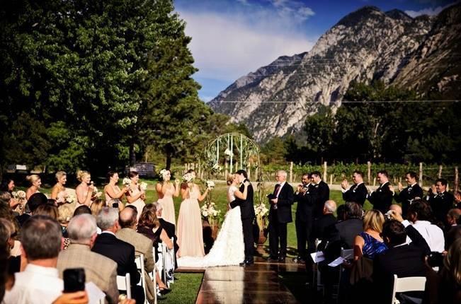 Pink and Ivory Vineyard Mountain Wedding {Pepper Nix Photography} 16