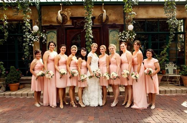 Pink and Ivory Vineyard Mountain Wedding {Pepper Nix Photography} 4