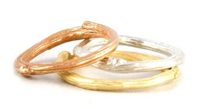 Stackable Engagement Wedding Rings 3