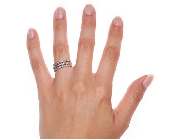 Stackable Engagement Wedding Rings 4