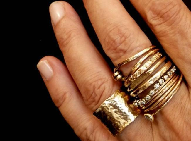 Stackable Engagement Wedding Rings 9