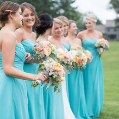 Sweet Vineyard Wedding in Virginia {Gayle Driver Photography}