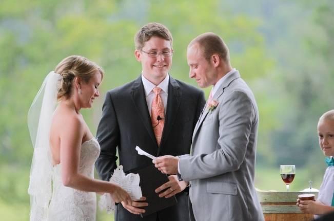 Sweet Vineyard Wedding in Virginia {Gayle Driver Photography} 13