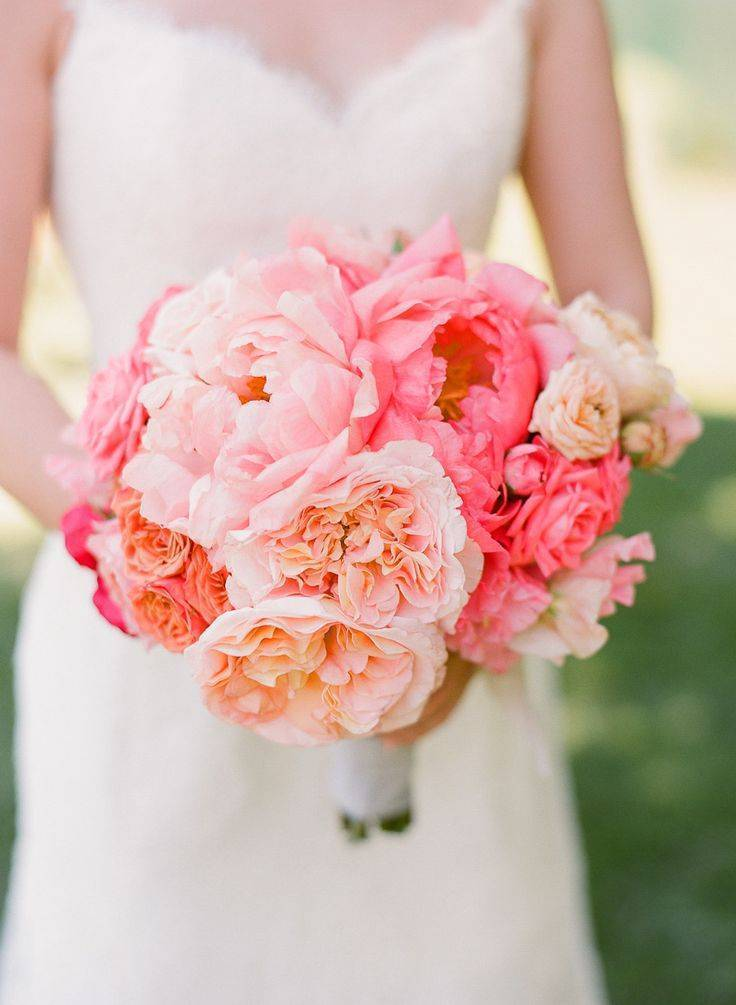 Wedding Bouquet by Cherries -cherriesflowers.com via smp, photo by LisaLefkowitz
