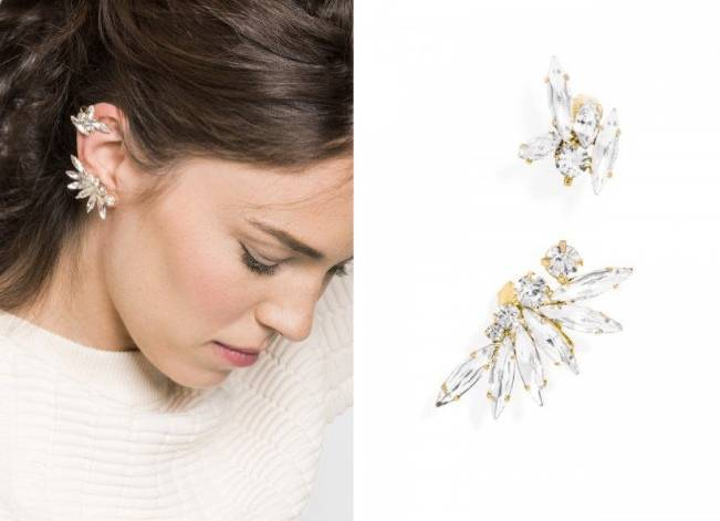Asymmetrical Tinkerbell Ear Cuff from BaubleBar
