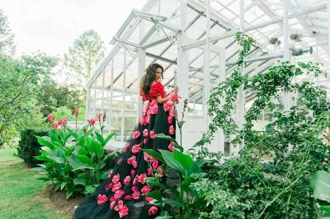Bright Botanical Greenhouse Shoot {Newbury Photographs} 1