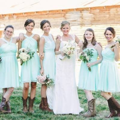 Rustic Mint Wedding with Southern Charm + Coca-Cola