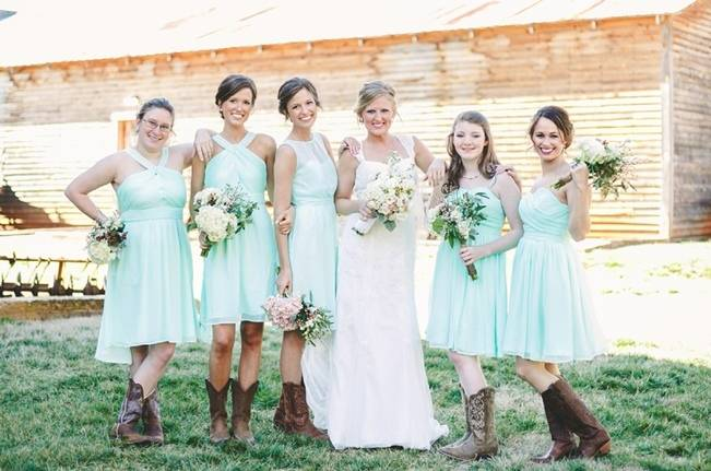 Charming Southern Wedding with Rustic Mint Details {Brandy Angel Photography} 1