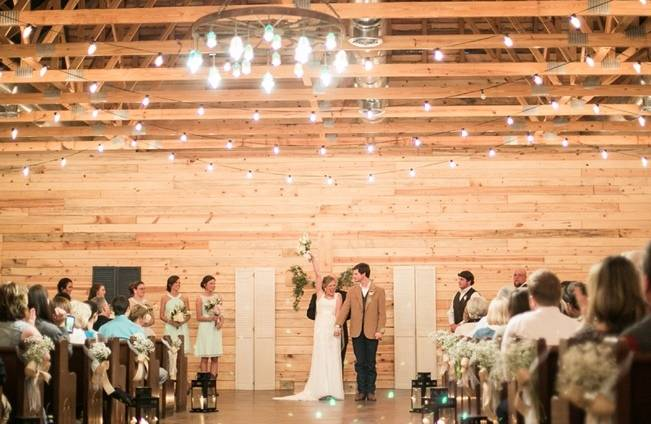 Charming Southern Wedding with Rustic Mint Details {Brandy Angel Photography} 16