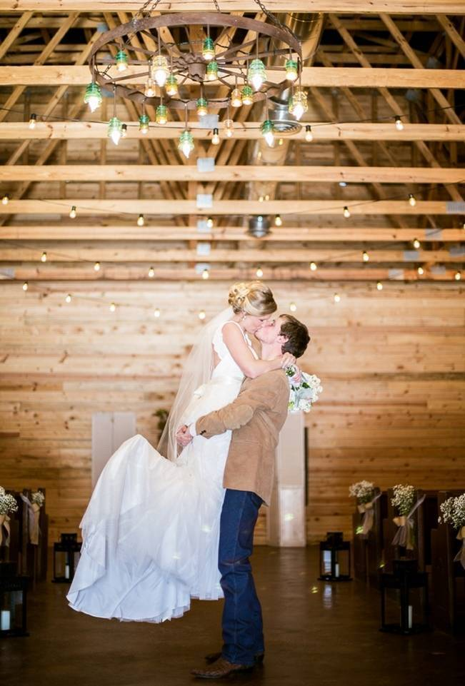 Charming Southern Wedding with Rustic Mint Details {Brandy Angel Photography} 17