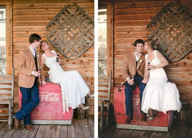 Charming Southern Wedding with Rustic Mint Details {Brandy Angel Photography} 18