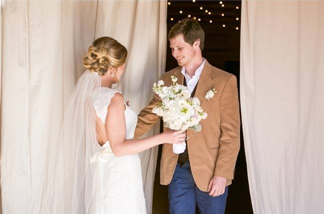 Charming Southern Wedding with Rustic Mint Details {Brandy Angel Photography} 4