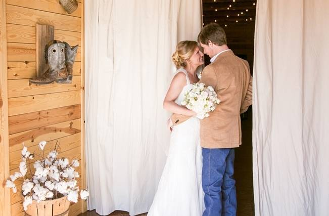 Charming Southern Wedding with Rustic Mint Details {Brandy Angel Photography} 5