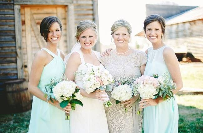 Charming Southern Wedding with Rustic Mint Details {Brandy Angel Photography} 7