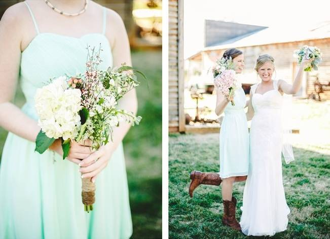 Charming Southern Wedding with Rustic Mint Details {Brandy Angel Photography} 8