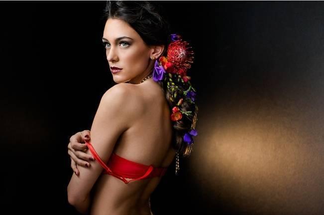 Floral Boudoir Shoot {Natalie Sinisgalli Photography} 11
