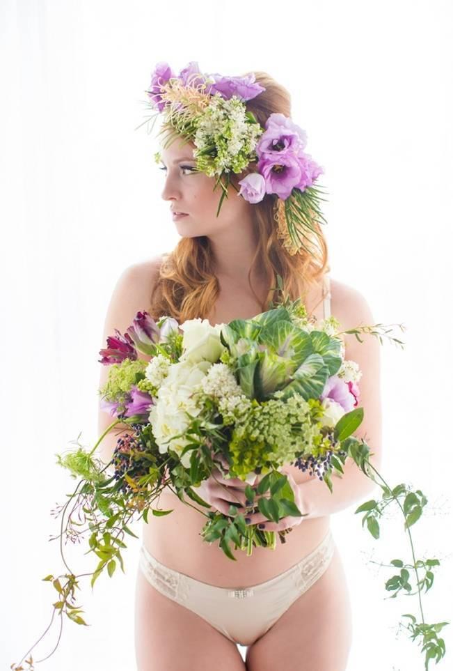 Floral Boudoir Shoot {Natalie Sinisgalli Photography} 13