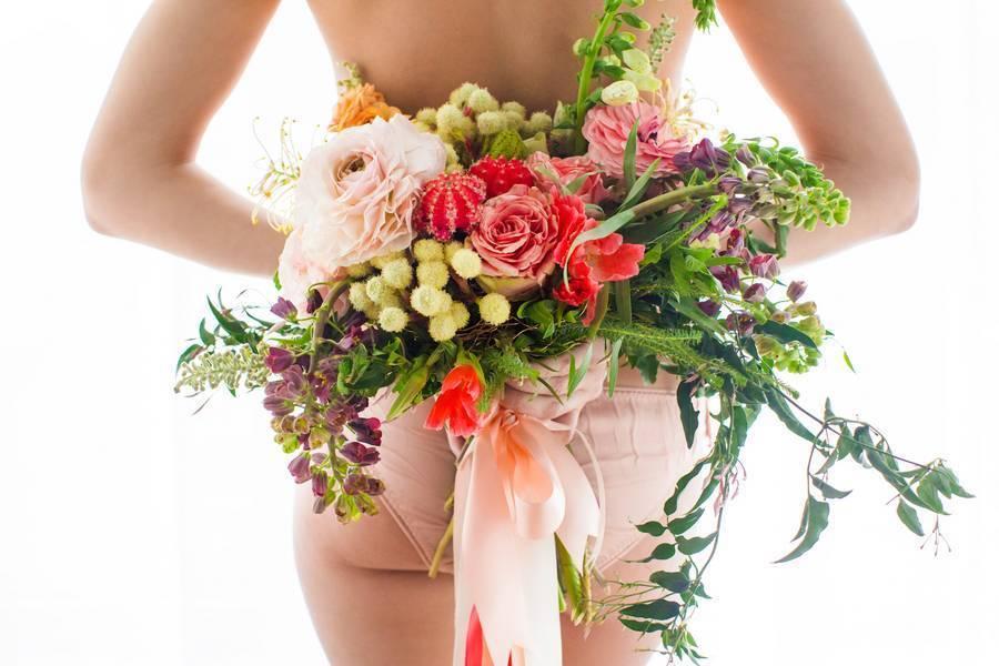 Floral Boudoir Shoot {Natalie Sinisgalli Photography} 14